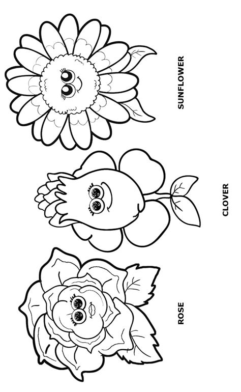 coloring pages flower girl flower friends coloring page daisy scouts pinterest
