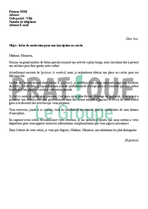Lettre De Motivation Inscription Cole Lettre De Motivation Pour Une Inscription En Cr 232 Che Pratique Fr