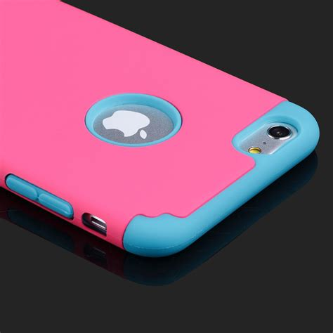 Iphone 5 Iphone 6 Iphone 6 Rubber shockproof rugged hybrid rubber cover for iphone 7 6 6s plus samsung ebay