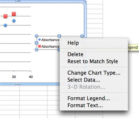 format excel legend excel tutorial