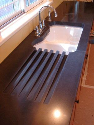 Kitchen Faucet And Sink Combo 25 Best Ideas About Concrete Countertops On Pinterest