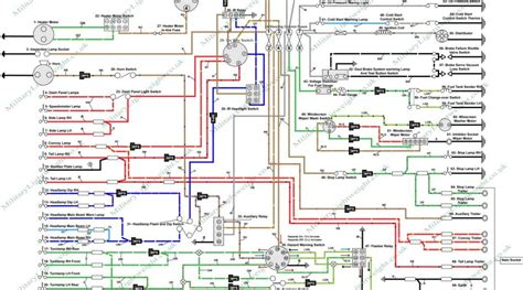 lightweight land rover wiring diagram pre fog the