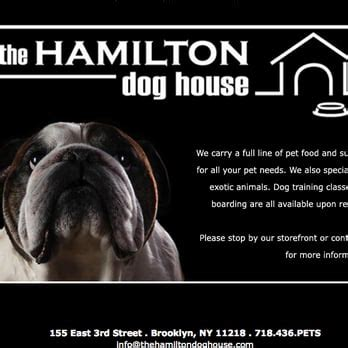 hamilton dog house the hamilton dog house 12 reviews pet shops 155 e 3rd st kensington brooklyn