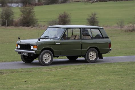 Pictures Of The Vintage Range Rover