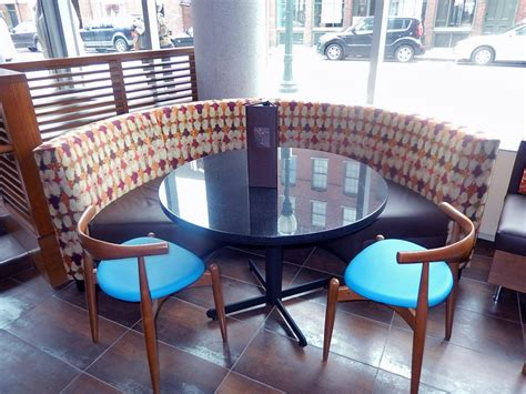 bar banquette seating first look quot glass quot at the hyatt place portland old port mainetoday
