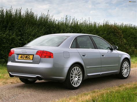 audi a4 s line 2004 audi a4 2 0t s line sedan uk spec b7 8e 2004 2007 images
