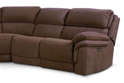 monterey 3 power reclining sofa mocha monterey 5 power reclining sectional with 3