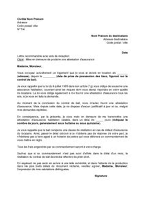Modeles De Lettre Juge Des Tutelles Modele Mise En Demeure Remboursement Caution Document