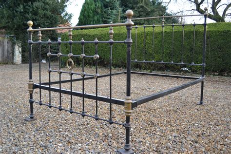 Iron Bed Frames Uk Coast To Country Antique Brass And Iron Bedsteads 4ft 6in Bed