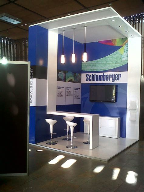 booth design job schlumberger stand 2 by jorge cort 233 s at coroflot com