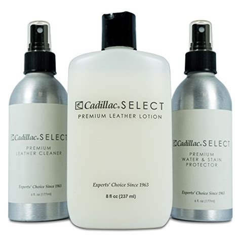 Cadillac Leather Cleaner by Cadillac Select Premium Leather Care Kit Leather Cleaner