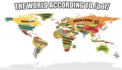 Pol Memes - the world according to pol bigger less dense pol