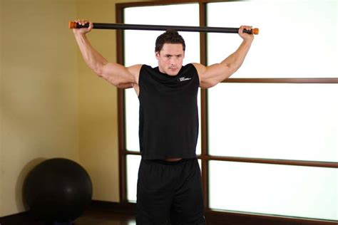 Chest And Front Of Shoulder Stretch Exercise Guide And Video Chest Shoulder
