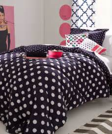 polka dots bedding little girls bedding set