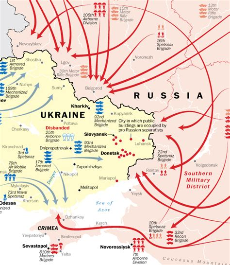 map ukraine war map how ukraine and russia are moving toward war the