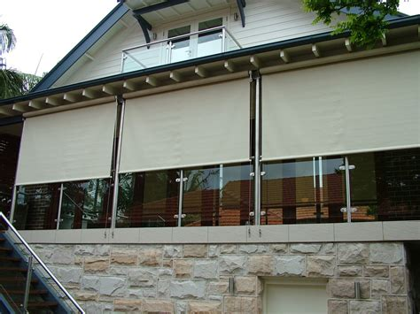 straight drop awnings shaderite brookvale sydney shades blinds
