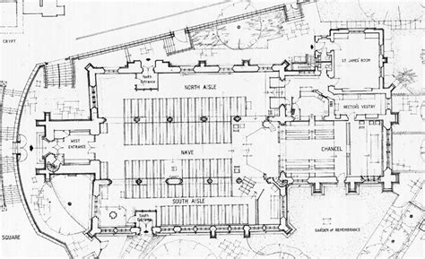 19th Century Floor Plans nottingham st peter plans