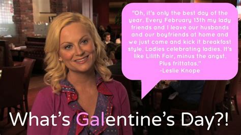 Leslie Knope Memes - everything you need to host an amazing galentine s day party