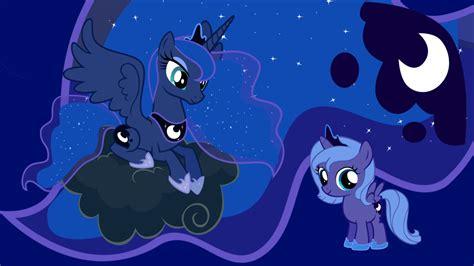 princess luna my little pony fan labor wiki wikia image princess luna and filly luna png my little pony