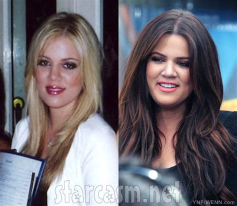 khloe kardashian goes brunette heres how she got her new hair photos khloe kardashian goes blond for christmas