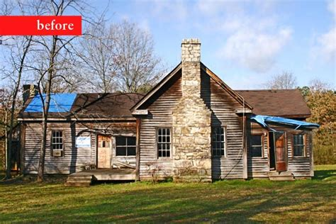 remodel from falling farmhouse to rescued and