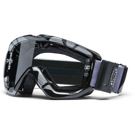 smith turbo fan otg goggles smith option otg static turbo fan motocross goggles black