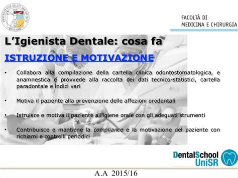 igienista alimentare igiene dentale cltid15 16
