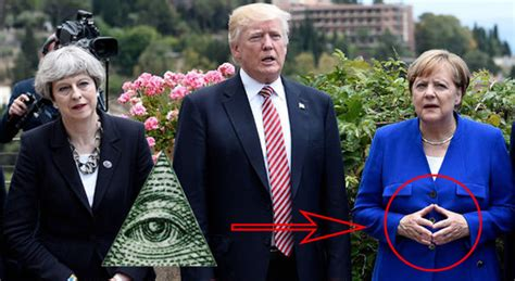 illuminati leaders of the world world leaders using illuminati symbols around