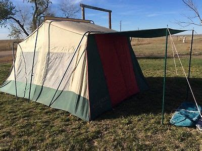 two bedroom tent coleman vintage 14x10 two room tent w awning strong aluminum poles good tent 250 00 picclick