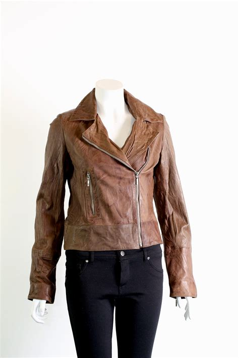 ladies brown biker ladies brown jacket jackets review