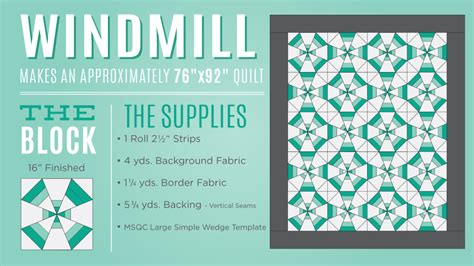 Missouri Quilting Company Deal Of The Day by Make A Windmill Quilt With