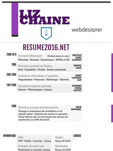 Resume Sle Usa Style A Sle Of Resume For Best Resume Styles Exles For Your Recentresumes