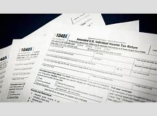 What you should know about filing an amended tax return ... M 1040x