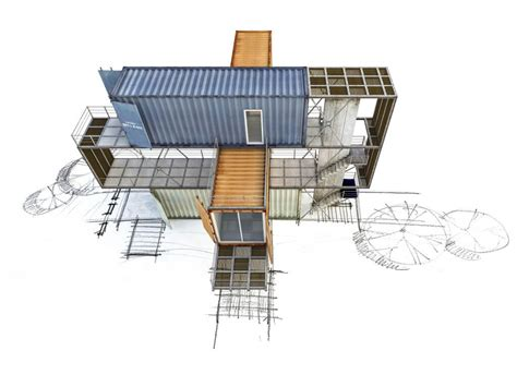 Shipping Container Designs And Architecture Gap Shipping Container House Plans Version
