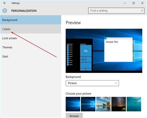 how to change taskbar color how to change taskbar color in windows 10