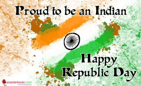 India Republic Day Greeting Cards, Happy Republic Day