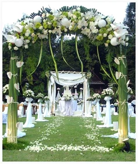backyard wedding decor 43 best outdoor wedding entrance ideas pink lover