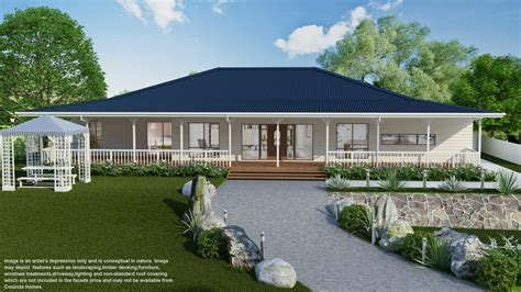 Colonial Style Home Floor Plans Kingsley Series Cooinda Homes Australia Pty Ltd