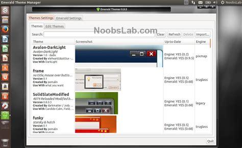 ubuntu tc tutorial emerald decorator and themes available for ubuntu via ppa