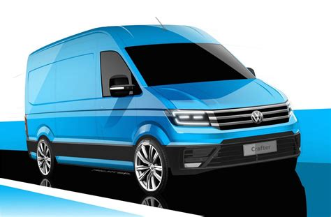 2017 Volkswagen Crafter Previewed Gets Design