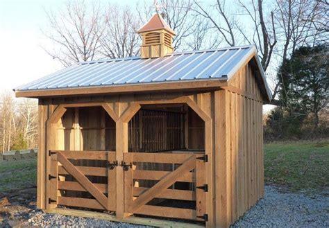 farmsteader horse barns small horse barn  sale