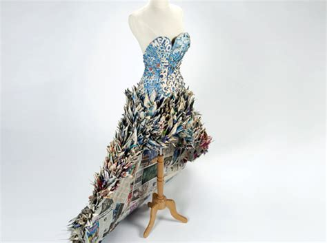 Clothes Out Of Paper - books for souls hundreds of paper dresses