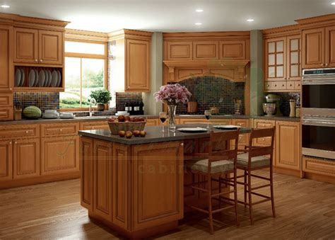 Kitchen Brown Cabinets by Light Brown Kitchen Cabinets Sandstone Rope Door