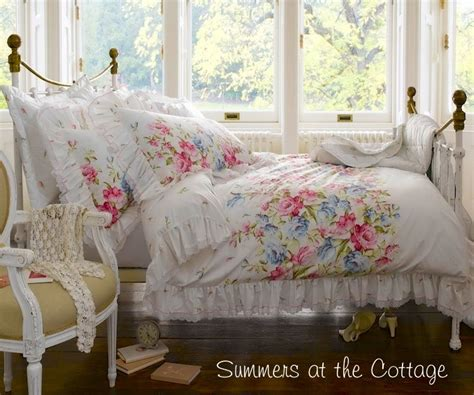 country chic bedding 3 piece shabby white ruffles vintage victorian lace