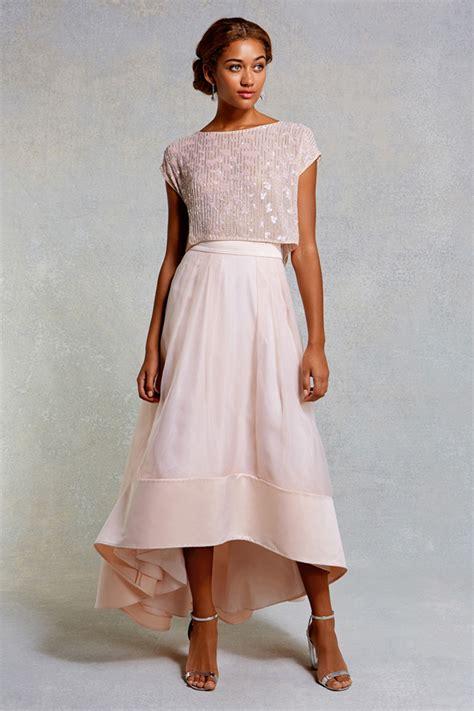 beaded top bridesmaid dresses 17 stunning blush bridesmaid dresses weddingsonline