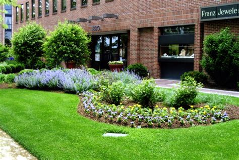Commercial Landscape Design And Installation Kg Landscape Commercial Landscape Service