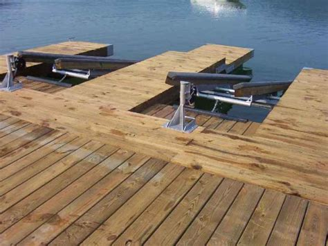 floating boat lift plans diy double pwc dock kit floating boat dock with swim