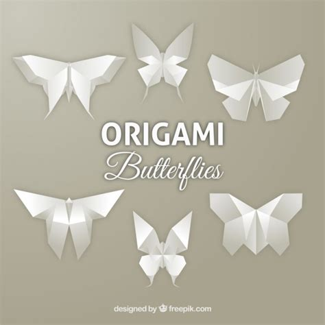 Origami Butterflies - butterfly origami vectors photos and psd files free