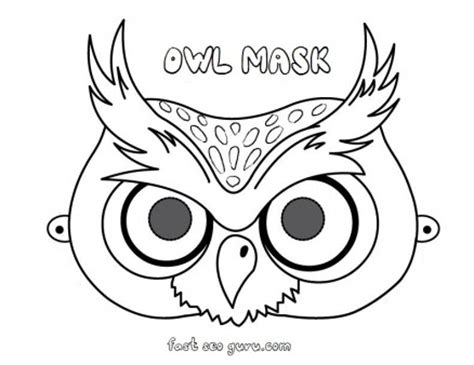 6 best images of printable owl cut outs preschool