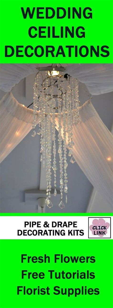 10  ideas about Wedding Ceiling Decorations on Pinterest